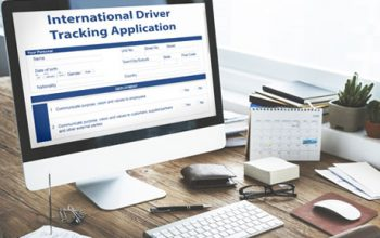 International Driver Tracking Application